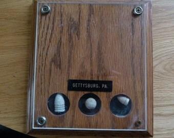 gettysburg 1863 war relics