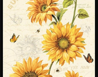 Wilmington Prints FOLLOW THE SUN by Lisa Audit 100% Cotton Fabric (#127)