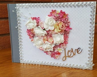 Love Guest Book / Scrapbook