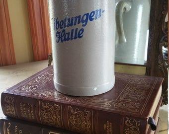 German 1 Liter Beer Stein