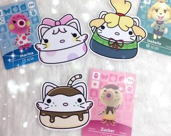 Animal Crossing Kitties (Sticker Set)