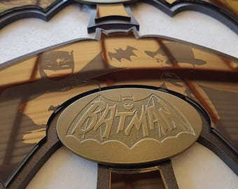 Batman 60's TV Show  Custom Display Batarangs