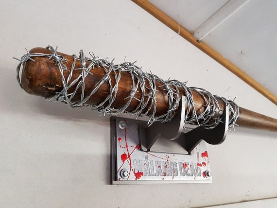 The Walking Dead Lucille Bat Amp Wall Mount Stand