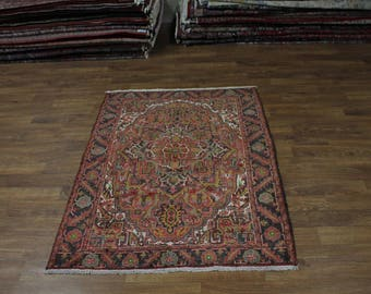 Great Foyer Size Handmade S Antique Goravan Persian Rug Oriental Area Carpet 5X6
