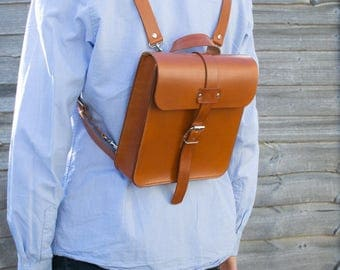 Leather Backpack, Leather Bag, Messenger Bag, Shoulder Bag