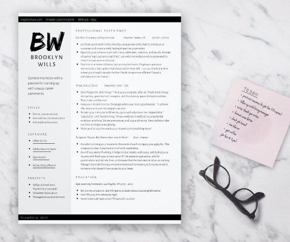 edgy resume template for word grayscale cv 2 column resume