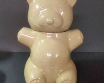 Danks teddy bear cookie jar