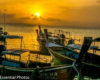 Sun Up on Phi Phi Island Thailand