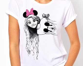 Disneyland Rapunzel Disney Women's T Shirt
