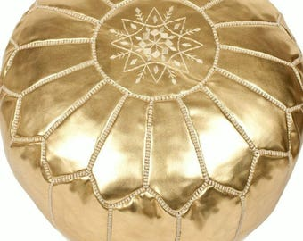 Moroccan authentic pouf - Unfilled