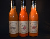 12 Oz ~ Select Flavors ~  Limited Stock ~ All Natural Hot Sauce