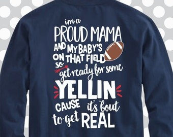 Proud Mama, Football Mom svg, mom dxf, eps, png,Football Mama svg, Football svg, files for cricut, iron on decal, Football team svg, png