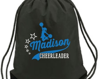 Cheerleader Drawstring Backpack