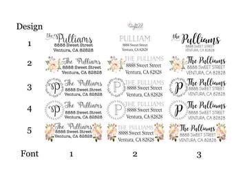 Custom Return Address Labels-Rectangle, Family/Business