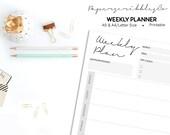 Weekly Planner Printable,...
