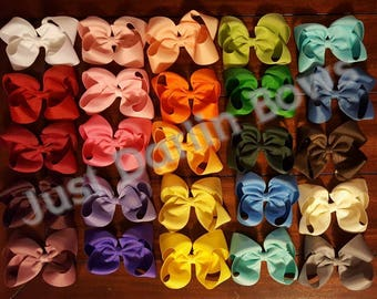 Set of 25 Boutique Style Bows, 4 inch