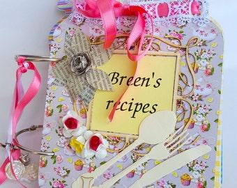 Recipe book bridal shower gift Etsy