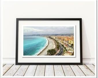 Printable Large Poster, Contemporary Beach Wall Art Poster, Digital Download,Sea Coast Poster, Nice Print, Home Decor, Sea Water Print, Sea