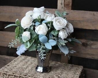 Reception Centerpiece, Home Decor, Wedding Reception, Wedding Decor, Sola Flowers, Small Floral Arrangement