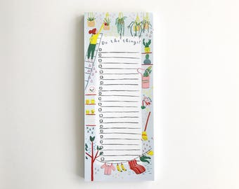 Do The Things - to do list - 50 sheets- pad notepad stationary