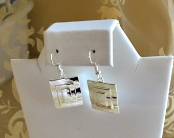 Silver Filled Pewter Earrings