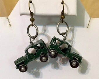 Toy Jeep Earrings