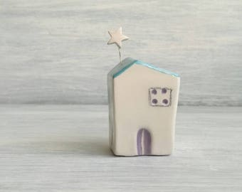 Miniature ceramic House
