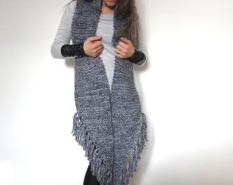 The stole of the troubadour (Heather grey)