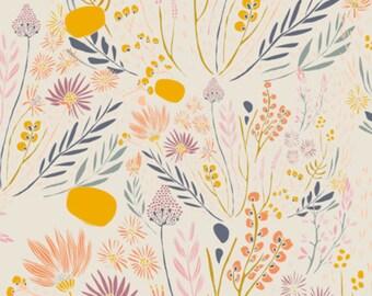 PREORDER Wispy Daybreak Aura designed by Leah Duncan for Art Gallery Fabrics - Knit Fabric, stretch fabric, floral fabric, designer knit