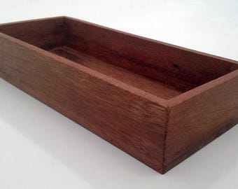 Upcycled Jewellery Tray (or Desk Tidy) in Teak