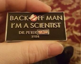 GHOSTBUSTERS 1984 PETER VENKMAN retro Enamel Pin
