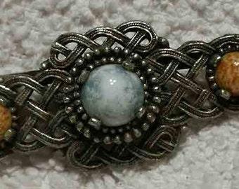 Beautiful Vintage Lattice Pin