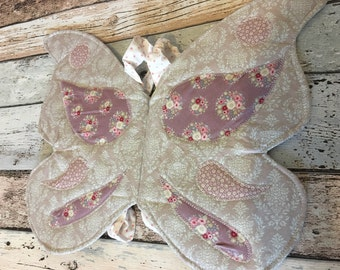 Fabric fairy wings 2-7yrs costume dress-up