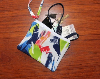 Watercolour Wristlet