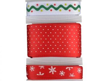 Kimberbell Christmas Ribbon, ribbon set, ribbon collection