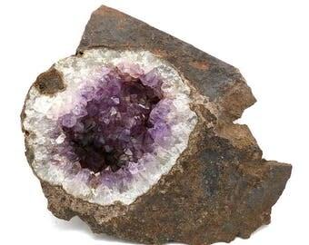 Zululand Amethyst Geode Plate – 231g