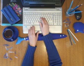 Keyboard and Mouse Wrist Rest, Wrist Support, Fish Wrist Rest