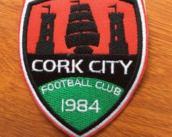 Patch Cork City FC - Ireand first division - UEFA - Eire - Celtic