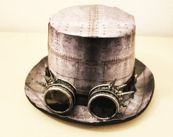 steampunk hat, hat stylized steampunk