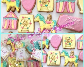 Carrousel cookies (12qty)