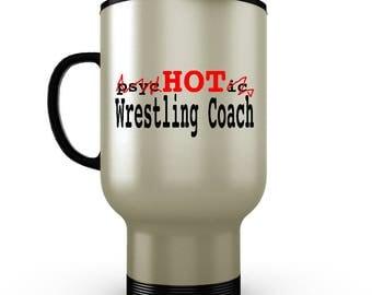 Wrestling Tumbler, Wrestling Coach Gift, Wrestling Gifts, Wrestling Travel Mug, Personalized Travel Mug, Wrestling Coach, Wrestling Mom