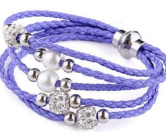 Multi Strand Bracelets with Beads