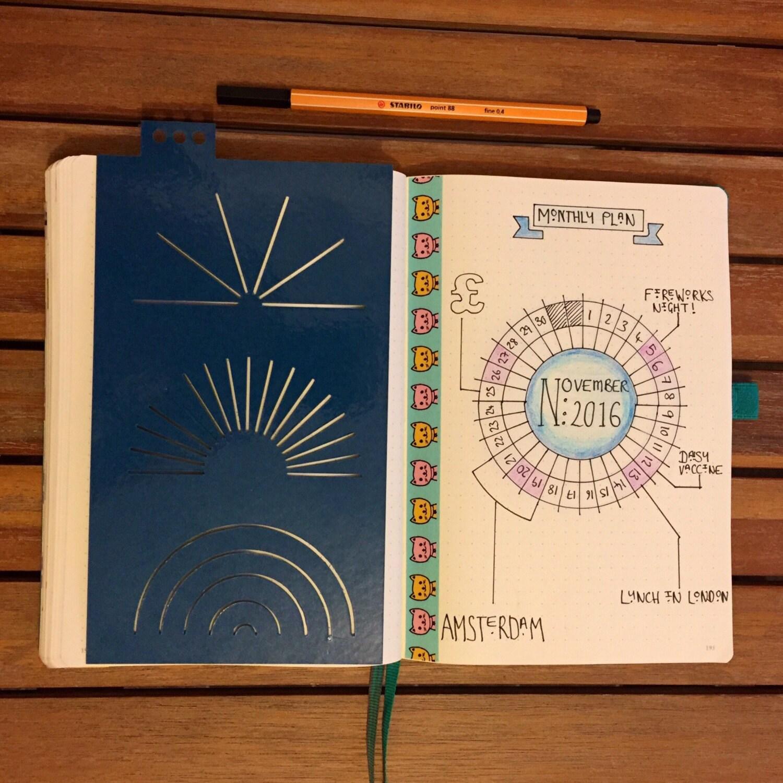 book planner template