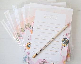 Watercolor Meadow Notepad