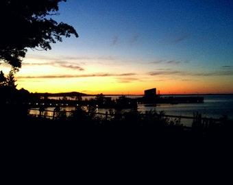 Bar Harbor at Sunset