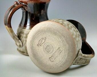 Chocolate and Jade Mark's Mug