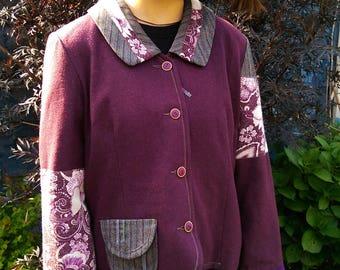upcycled jacket size 10/12