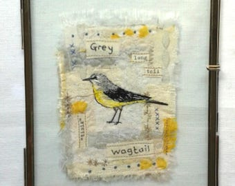 Embroidered Wagtail