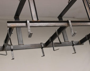 Industrial / Rustic Pot Rack