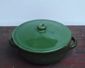 ALBISOLA PIRAL vintage casserole pan in pottery - Italy